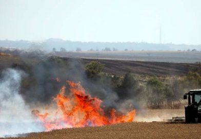 Gazzeli Mücahidlerin Gönderdiği Balonlar İşgal Topraklarında Yangınlar Çıkardı