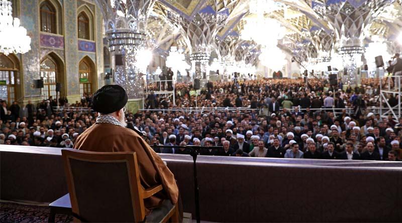 Hazreti İmam Seyyid Ali Hamaney'in İmam Rıza (a.s) Türbesi'ndeki Konuşmasından Satır Başlıkları