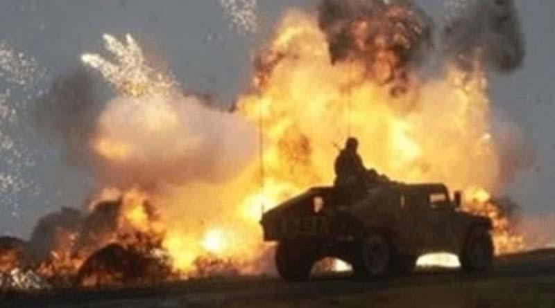 Iraklı Direnişçiler, Büyük Şeytan ABD Konvoyundaki 2 Aracı Havaya Uçurarak İmha Etti!