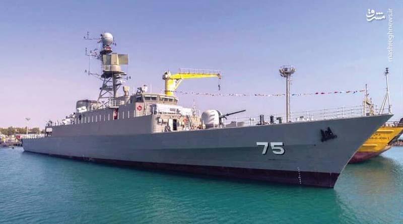 """İran İslam Cumhuriyeti Ordusu'nun yeni nesil savaş gemisi """"Dena"""" yakında görücüye çıkacak!"""