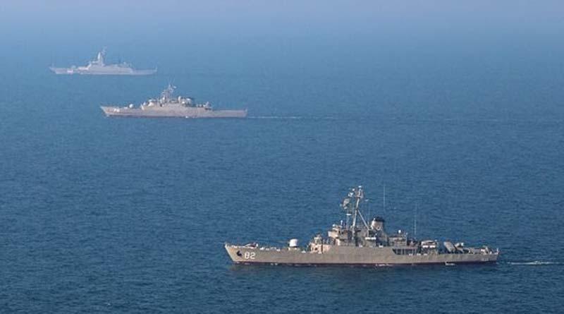 Video / Foto – İran ve Rusya'nın Hint Okyanusu'ndaki ortak askeri tatbikatından görüntüler