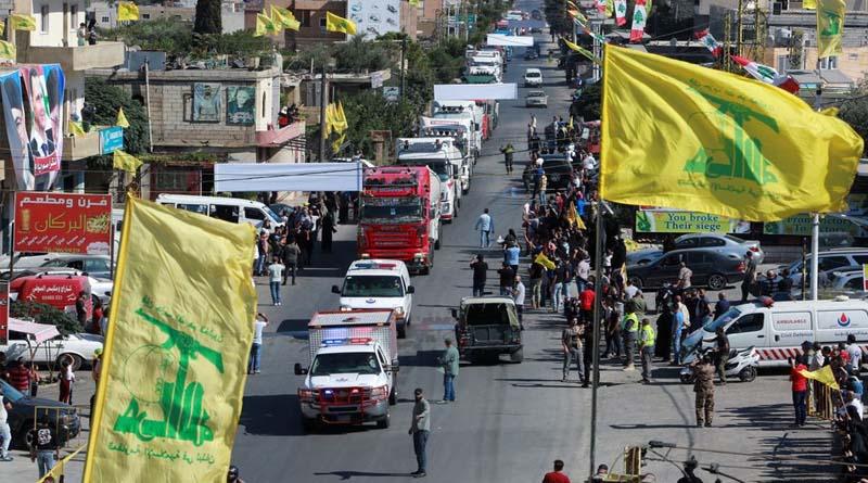 İran'ın beşinci yakıt konvoyu Lübnan'a giriş yaptı