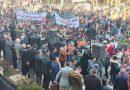 Suriye'nin kuzeyindeki Haseke kentinde Türkiye'nin işgali ve zulümleri protesto edildi