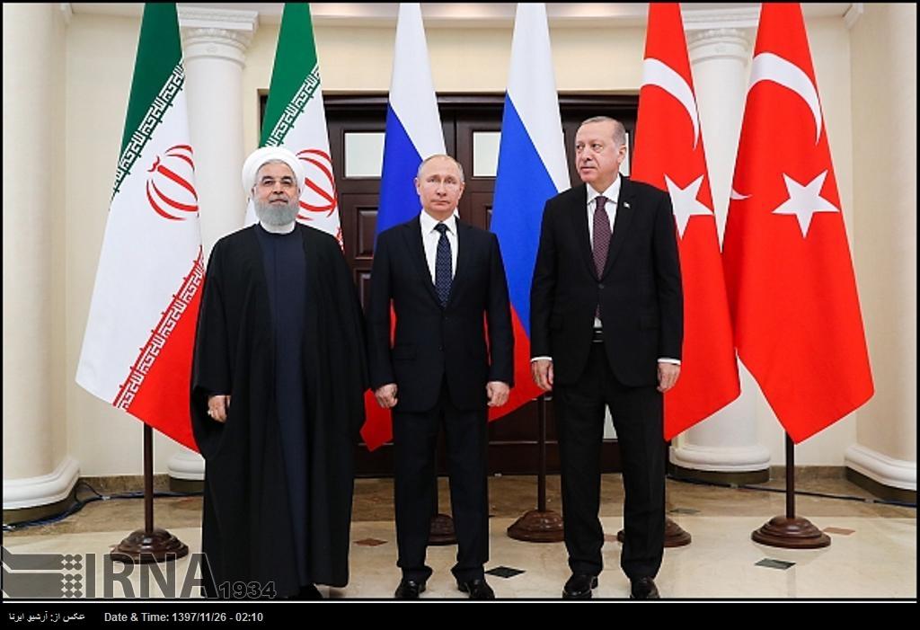 İran, Türkiye ve Rusya, Suriye'nin toprak bütünlüğüne vurgu yaptılar